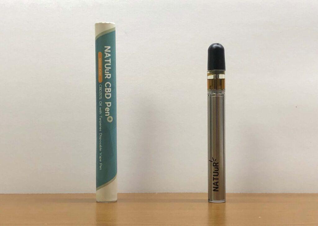 【万能型】NATUuR(ナチュール)の20%CBDペンを徹底レビューした結果