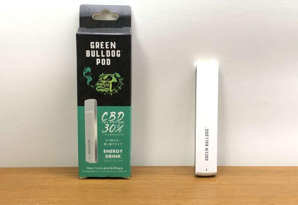GREEN BULLDOG(グリーンブルドッグ)の使い捨てポッドを紹介 使える回数と違法性も検証