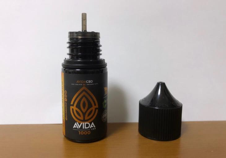 【レビュー】AVIDAのCBDリキッドを使ってみた結果【結論:絶妙なうまさ】