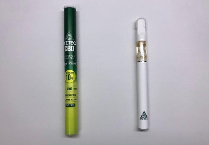アステカの使い捨てCBDペンの詳細